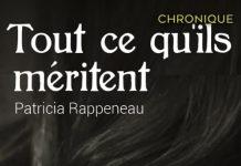 Patricia RAPPENEAU - Tout ce qu ils meritent-