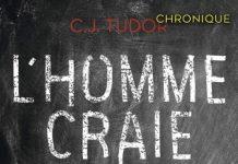 C. J. TUDOR : L'homme craie