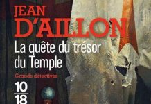 Jean D AILLON - La quete du tresor du Temple