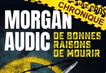 Morgan AUDIC - bonnes raisons de mourir