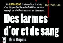 Eric DUPUIS - Des larmes or et de sang