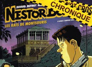 Nestor BURMA en BD - 13 - Les rats de Montsouris