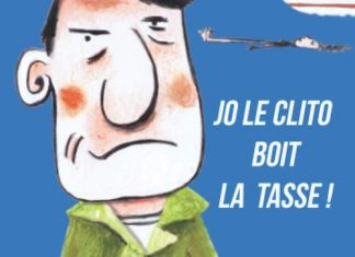 Claude PICQ : Jo le Clito boit la tasse