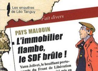 Enquêtes de Léo Tanguy - 02 - L'immobilier flambe, le SDF brûle par Sylvie ROUCH