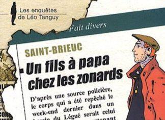 Enquêtes de Léo Tanguy - 03 - Un fils à papa chez les zonards par Denis FLAGEUL