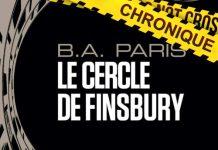 B.A. PARIS - Le cercle Finsbury