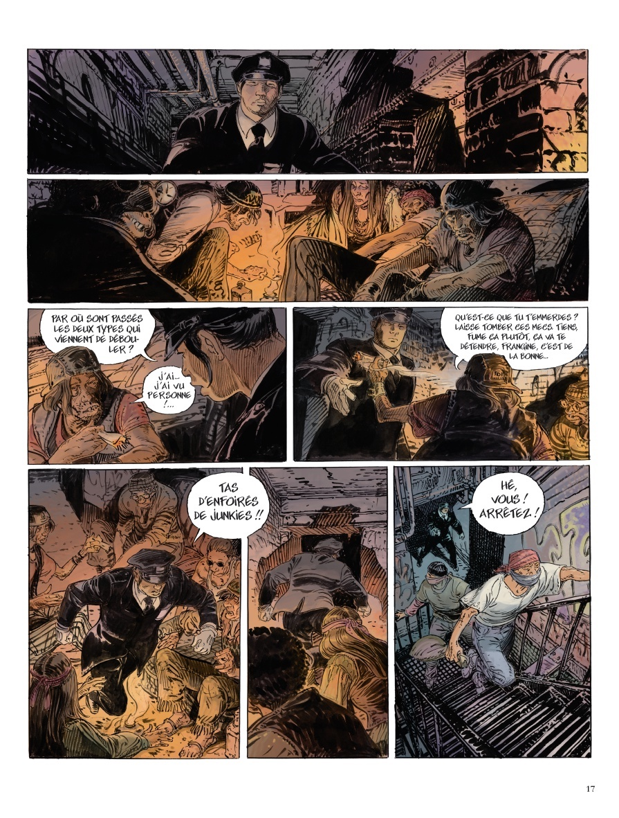 Jerome CHARYN et François BOUCQ : Tome 2 - New York Cannibals