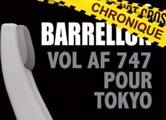 Nils BARRELLON : Vol AF 747 pour Tokyo