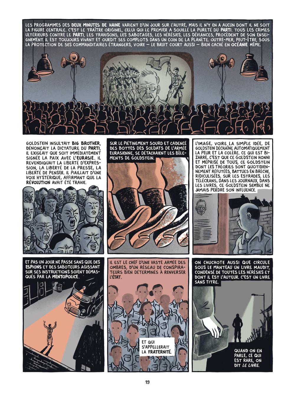 George ORWELL et Fido NESTI : 1984, le roman graphique