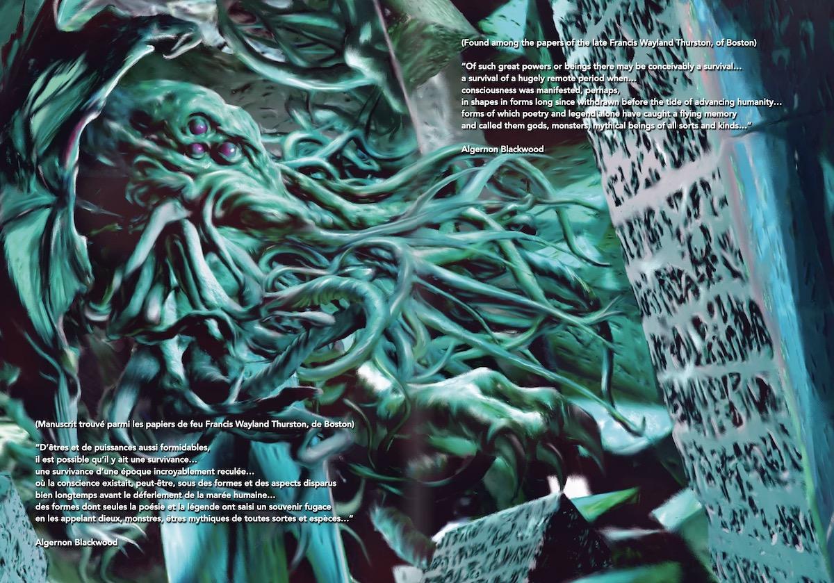 Gou TANABE : Les chefs d'oeuvre de Lovecraft - L'appel de Cthulhu